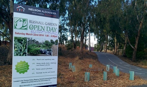 2014 Open day sign