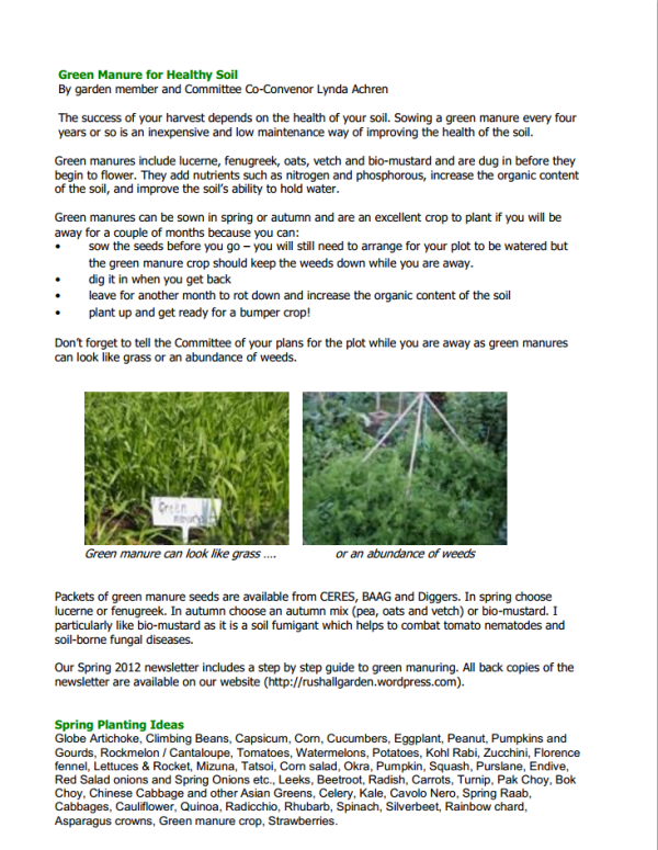 NFCGG Newsletter Spring 2014 - page 2