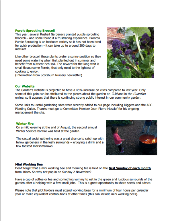 NFCGG Newsletter Spring 2014 - page 3